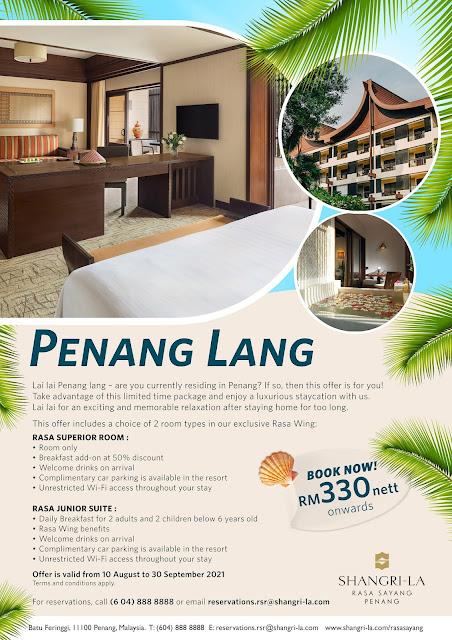 Penang Lang Hotel Promo by Shangri-La Rasa Sayang Penang Penang Blogger Blog Influencer Review