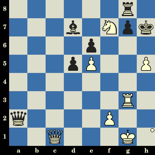 Testez votre niveau aux échecs - Les Blancs jouent et matent en 4 coups