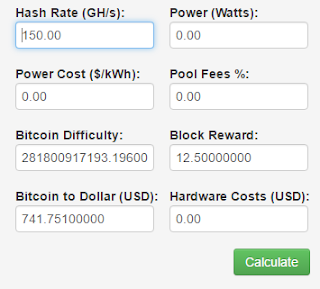 BTC Calculator 1