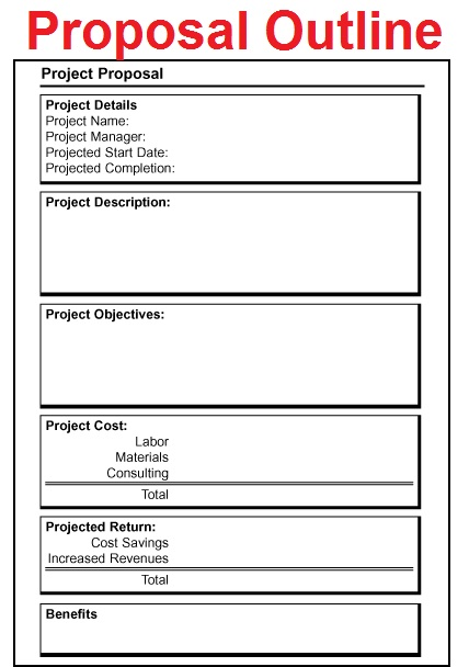 It Job Proposal Sample – Sample of Job Proposal