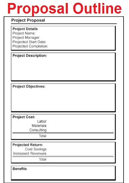 Job Proposal Template Project Proposal Samples Good Phd Research