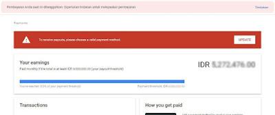 verifikasi rekening bank dari google adsense - adsense 2020