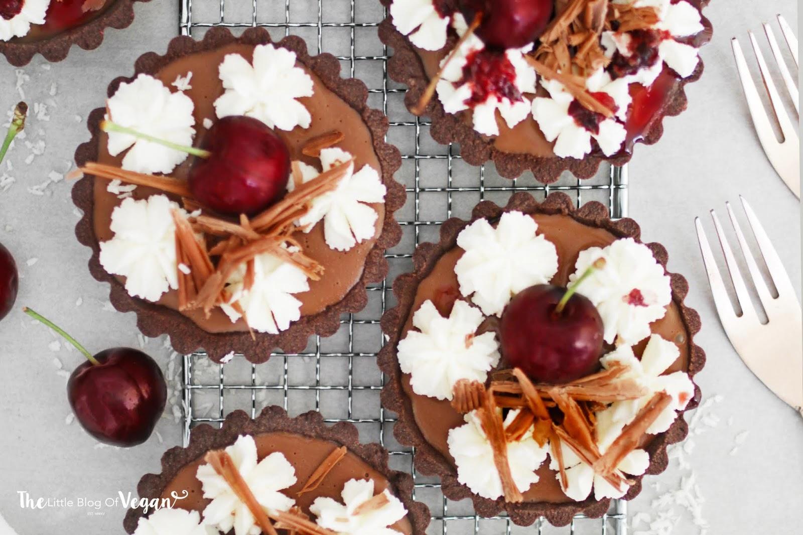 Black forest tartlets recipe