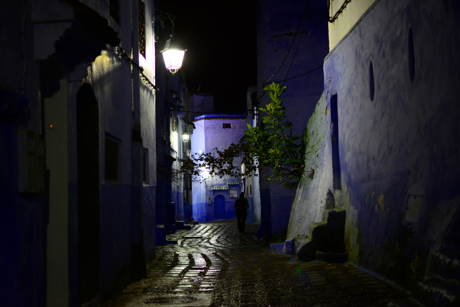 niebieskie miasteczko Maroko