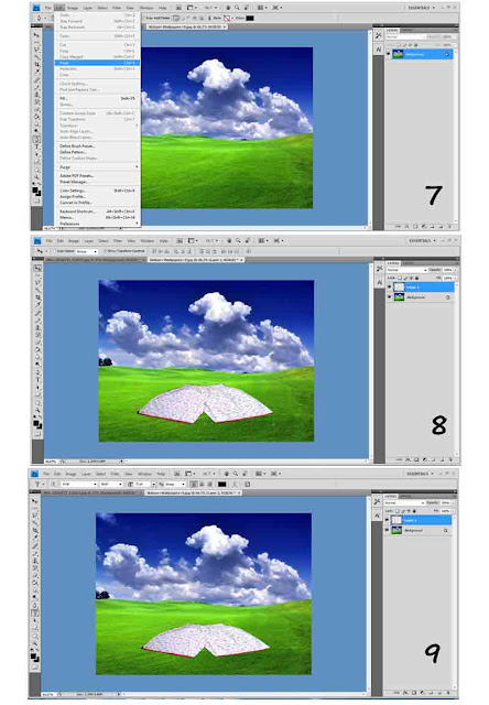 Cara mengganti background foto dengan photoshop 2