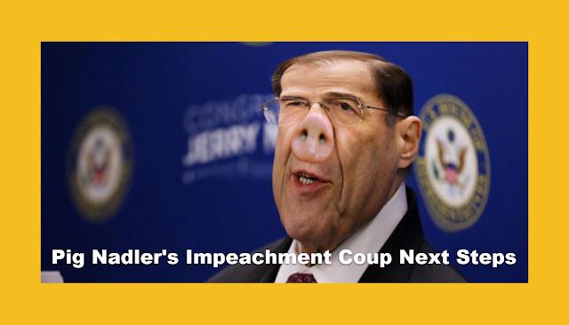 Pig Nadler's Impeachment Coup Next Steps