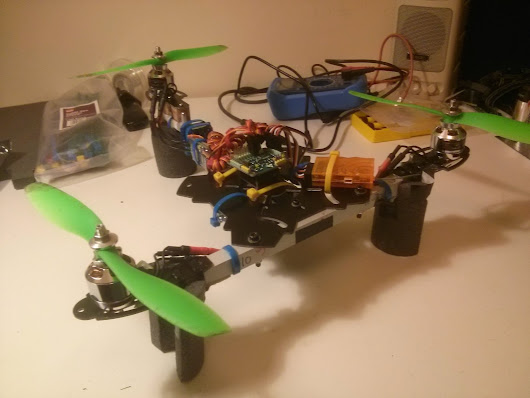 Tricopter design and build