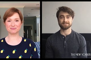 The New Yorker: Daniel Radcliffe and Ellie Kemper enter The New Yorker's cartoon caption contest