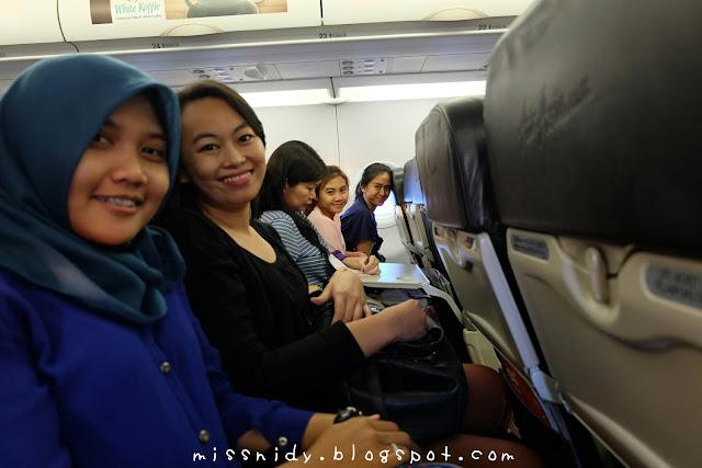 mengejar pesawat di singapore