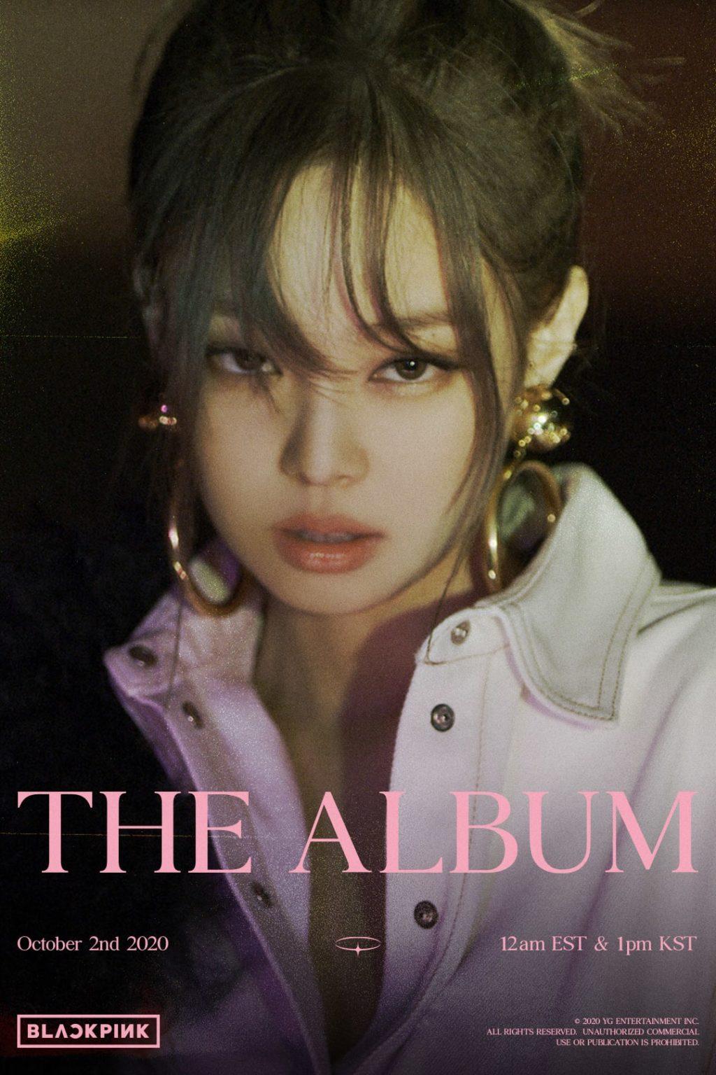 BLACKPINK Back Releases Jennie's Teaser for 'THE ALBUM'