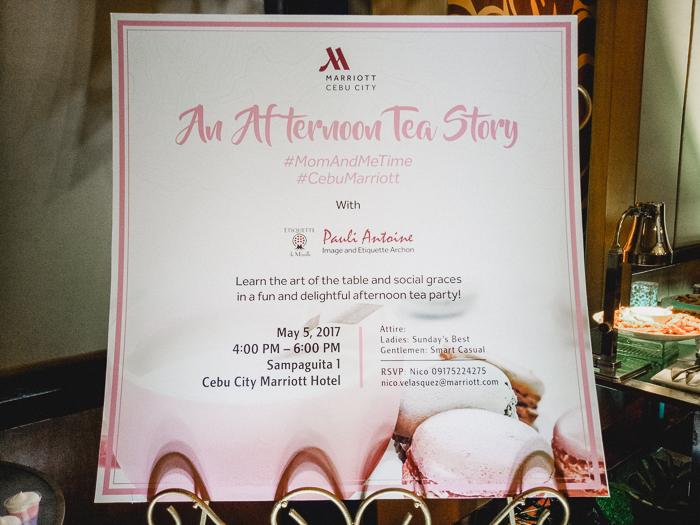 cebu marriott hotel tea party 2017
