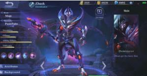 Zhask Hero Mobile Legend
