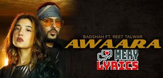 Awaara Lyrics By Badshah