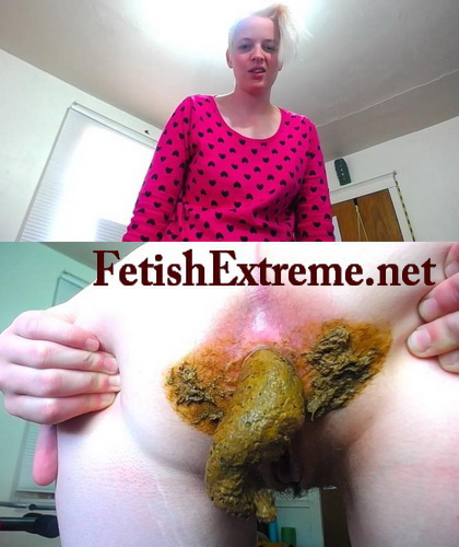 Lady in latex dress poop (Pooping fetishextreme 418-423)
