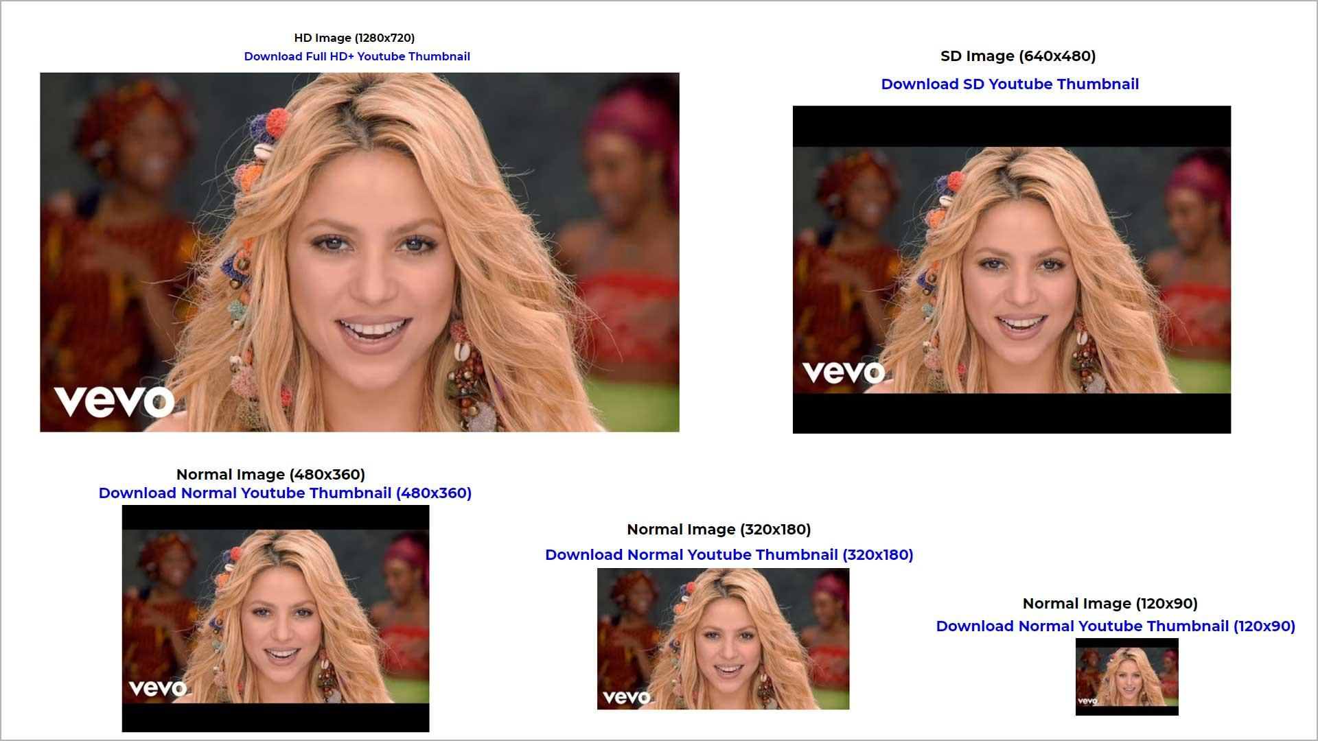 Download YouTube Thumbnail