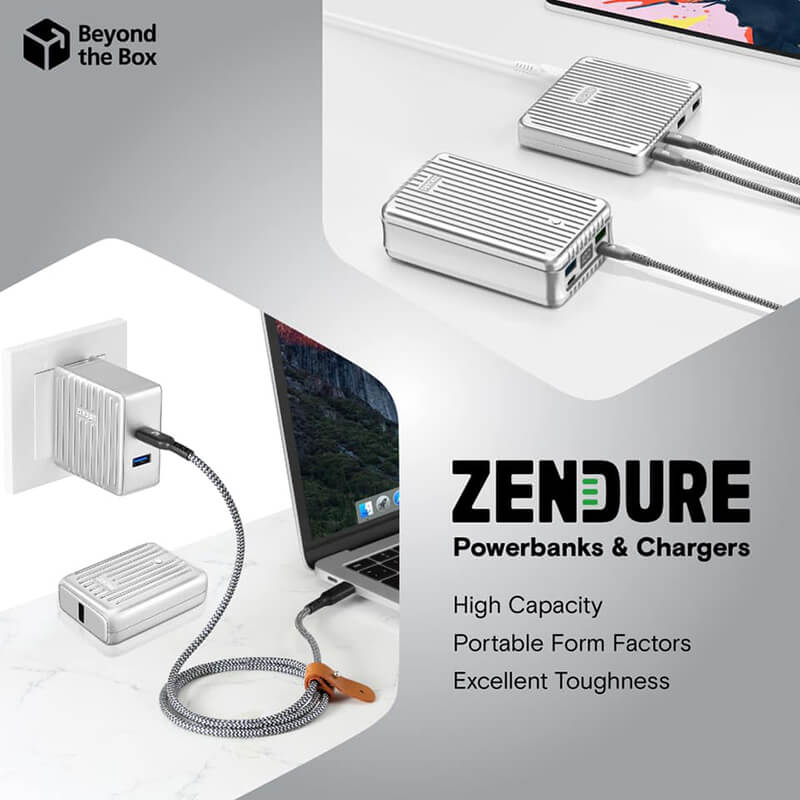 Zendure products now available at Beyond the Box