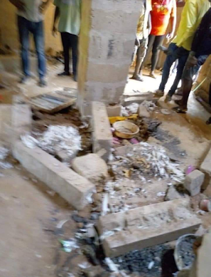 PHOTOS: Youths Expose Woman Killing And Burying People Alive