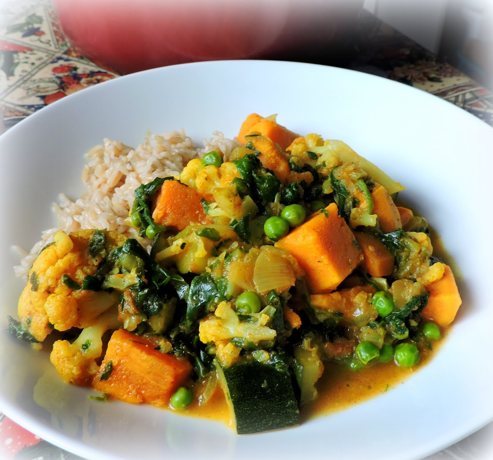 The English Kitchen A Delicious Vegetable Curry