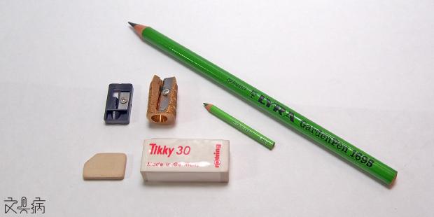 文具病: 142:超迷你色鉛筆組