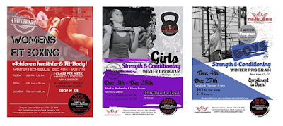 Timeless CrossFit Training new sessions for Women, girls, and boys starting Dec 4