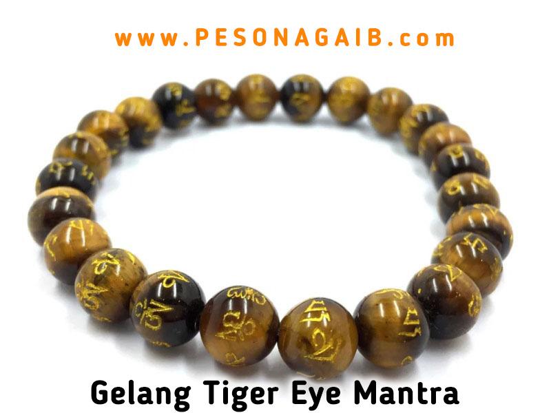 gelang buddha, gelang mantera buddha, gelang mantra buddhis, jual gelang tiger eye, gelang tiger eye asli natural, gelang batu rajah