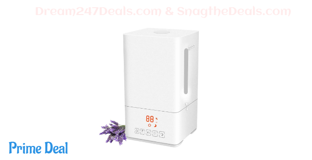50% OFF Top Fill Ultrasonic Cool Mist Humidifier 4 Liters Humidifiers
