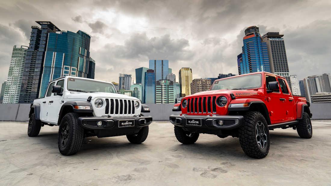 2020 jeep gladiator lands in ph, prices start at p 3.890m