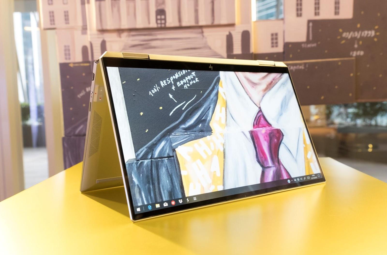 Laptop HP Spectre x360 2019 : Performa Handal Berbalut ...
