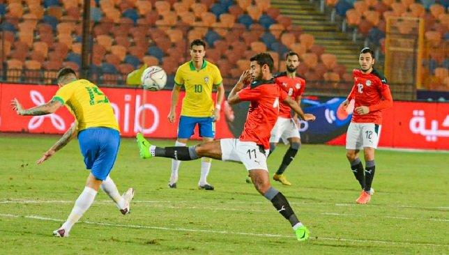 تقرير مباراة مصر والبرازيل طوكيو 2020