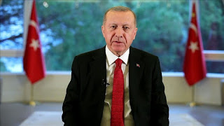أردوغان يوجه دعوة إلى المجتمع الدولي بشأن كورونا