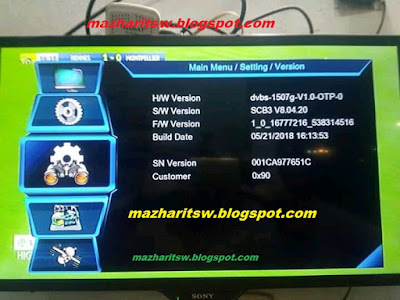 1507G NEW UPDATE SOFTWARE HERE SONY NETWORK OK - MAZHAR PC SOFTWEAR