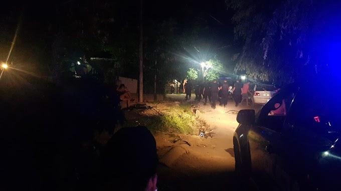 Detenciones, secuestro  de drogas y armas en una vivienda  de Magallanes al 1600 del Eucaliptal