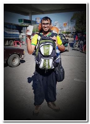 Vishnudas Chapke on world tour