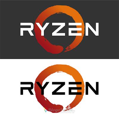 AMD Ryzen Logo Vector