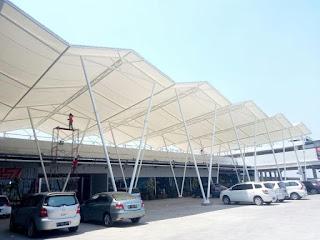 Tenda Membrane/Canopy Membrane di Jakarta Barat