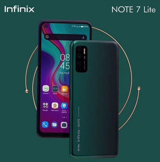 Infinix Note 7 Lite with 6.6-inch Infinity-O Display, 48MP Quad AI Camera, and 5,000mAh Battery is Priced for Only Php6,990