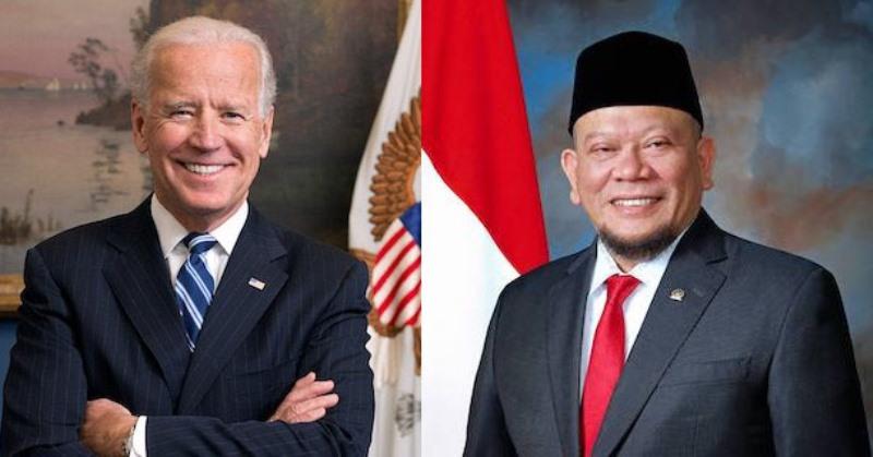 Ketua DPD RI LaNyalla Mattalitti Ucapkan Selamat Untuk Joe Biden Dan Kamala Harris