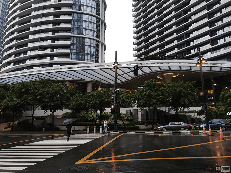 Gloomy rainy day shot