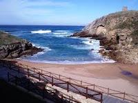 Playa de Santa Juliana en Santillana del Mar
