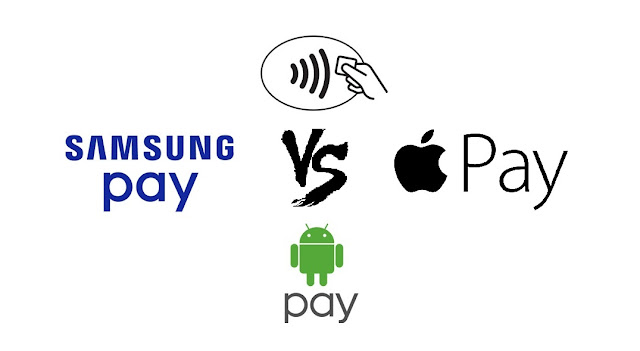 Android Pay vs Apple Pay vs Samsung Pay