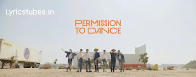 BTS - Permission To Dance Lyrics (English Translation)