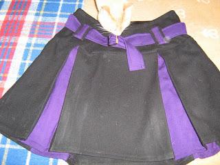 falda diseñada y creada por Déborah F. Muñoz