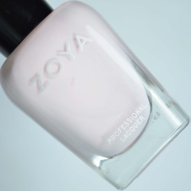 light blush creme nail polish in a bottle