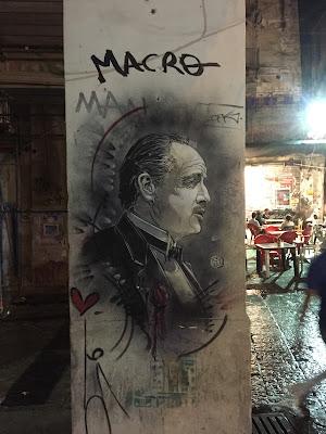 Palermo street art: brando in vucciria