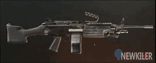M249 Senjata Supply Drop PUBG Mobile