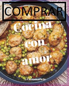 Quiero comprar el libro Cocina con amor