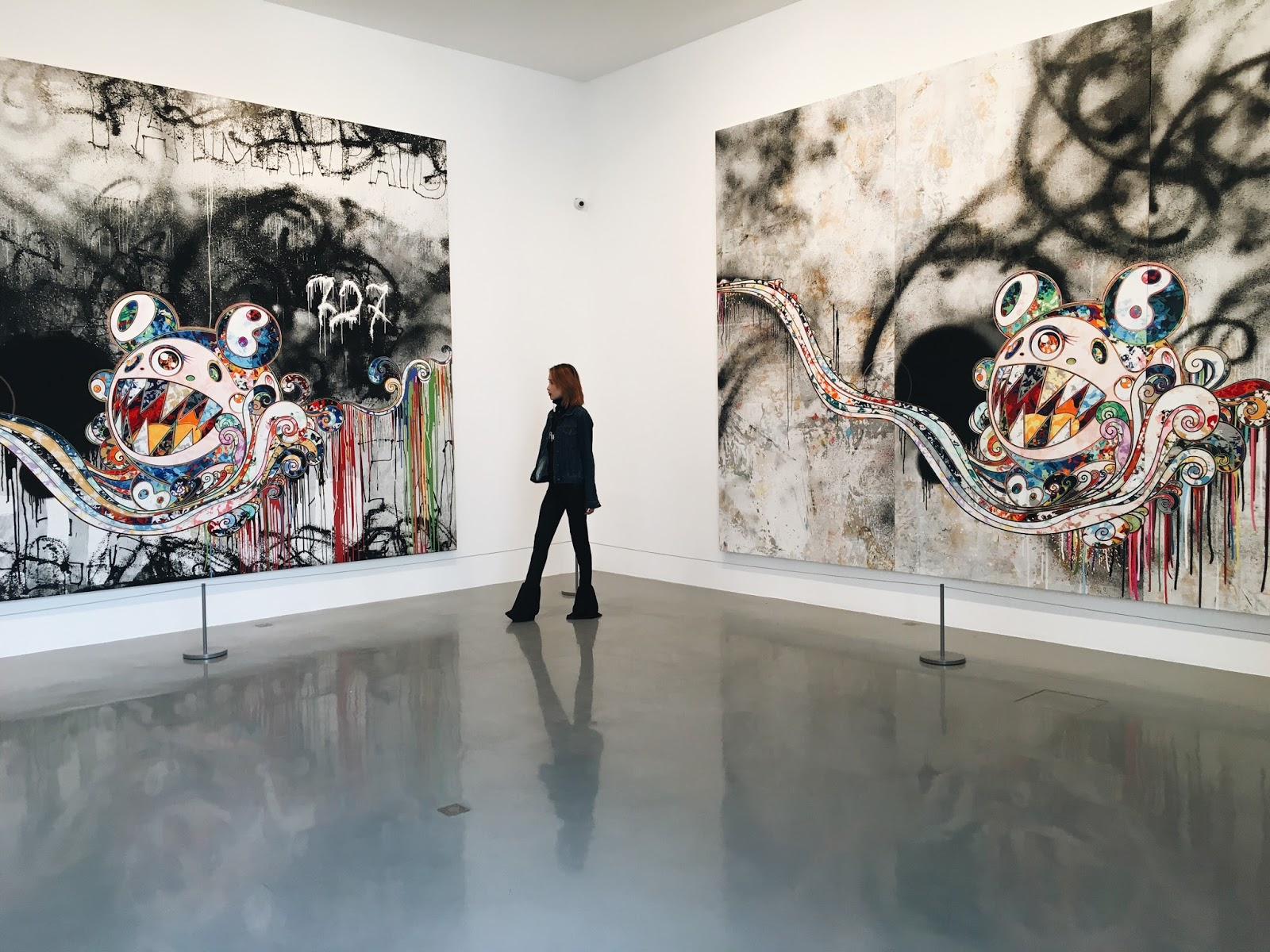 D Painting Exhibition : Takashi murakami s learning the mafic of painting