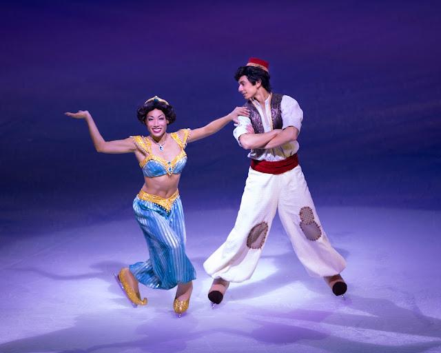 Disney on Ice - 100 Years of Magic 2019 - Aladdin and Princess Jasmine