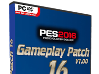 PES 2016 Gameplay Patch dari Yaku & IceTea Patch 16.1.00