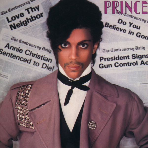 Prince - Controversy Cover